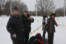 Демонстрационный турнир по русской лапте на снегу