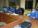 На заседании комиссии