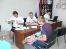Мондатная комиссия и трениро-судейское совещание